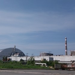 General view of the Chernobyl NPP