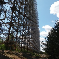 RADAR Duga in military town Chernobyl- 2